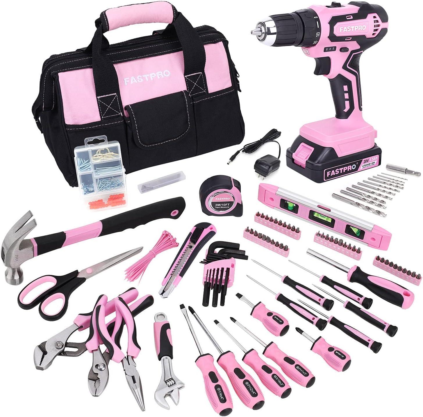 FASTPRO 232-Piece Pink Tool Set