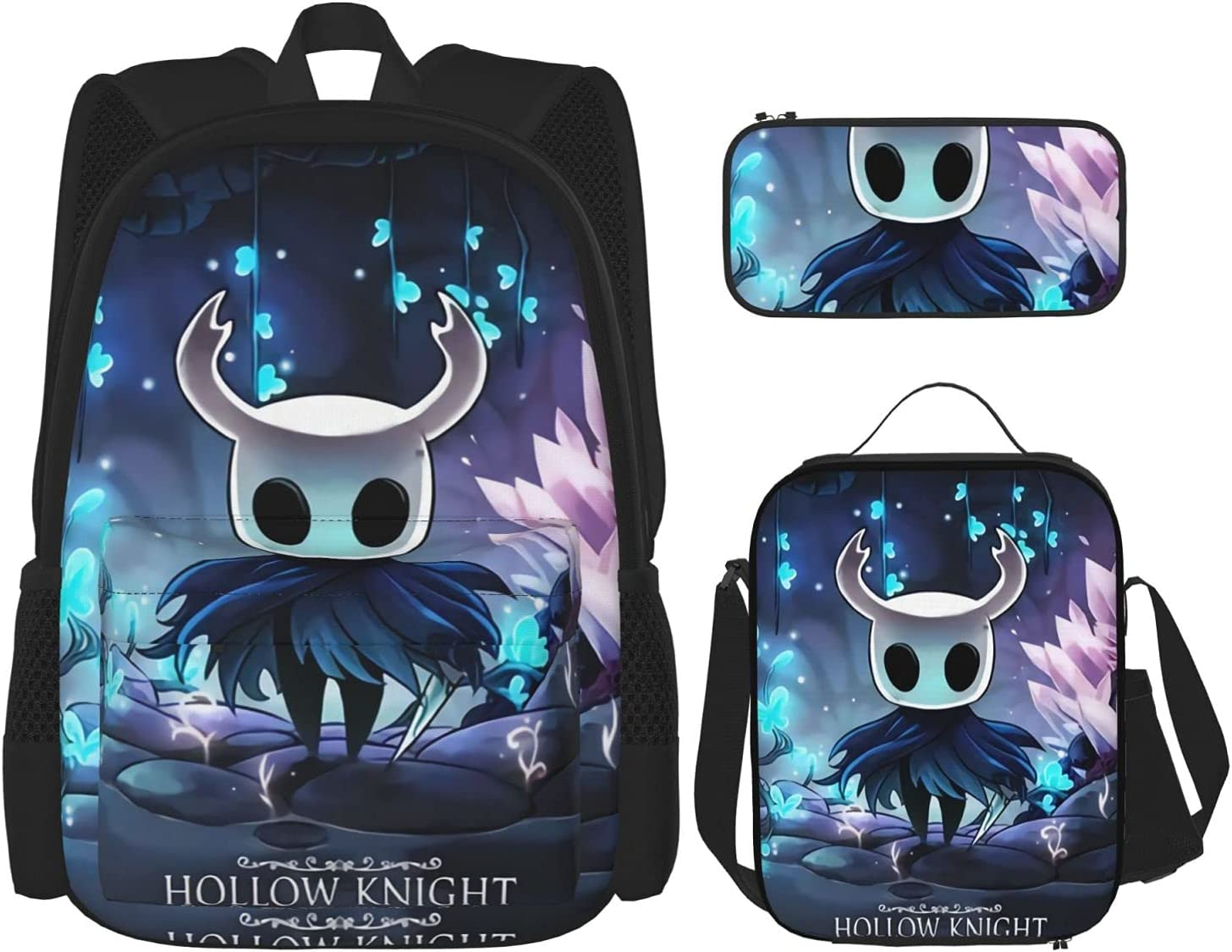 Hollow Knight The Eternal Max 40% OFF God Student Spring new work Piece Backpack 3 Youth Set