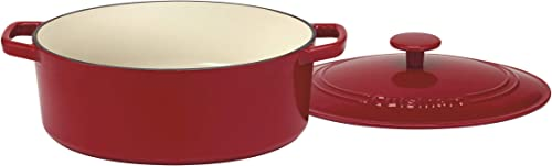 2021 Cuisinart wholesale CI755-30CR Chef's Classic Enameled Cast online sale Iron 5-1/2-Quart Oval Covered Casserole, Cardinal Red sale