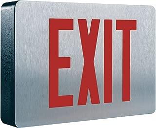 COOPER LIGHTING Cast Aluminum LED Exit Sign
