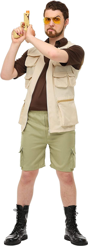 Das groe Lebowski Mens Walter Kostüm - M
