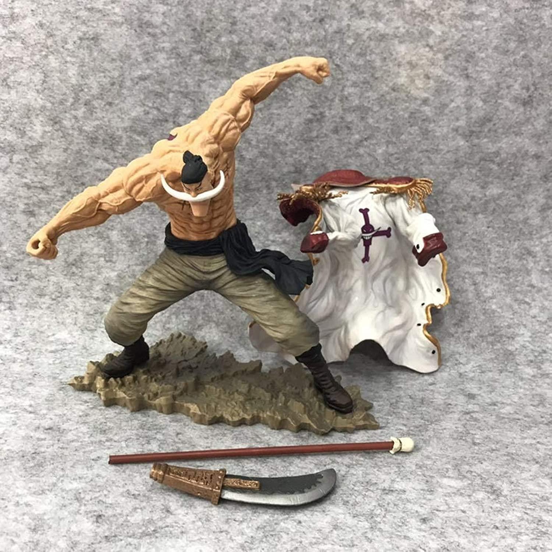 HBJP (26cm) HG Barba Bianca, Personaggio dei autotoni Animati della Collezione di Giocattoli in PVC, modellolo di Un Pezzo di Anime, modellolo di Film Statua di Giocattoli di Anime