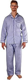 Men's Woven Sleepwear Long Sleeve Pajama Set Cotton Blend - Regular & Big Sizes