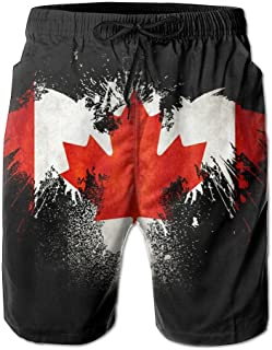 Coring Beach Shorts Canadian Eagle Men's Surfing Swim Trunks