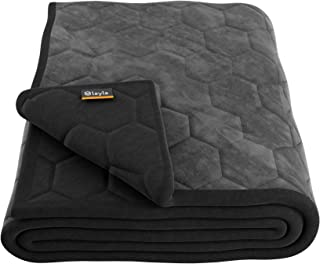 Layla Weighted Blanket with Fleecy Top Layer and 300 Thread-Count 100% Cotton Bottom Layer (Twin)