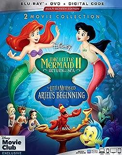 The Little Mermaid II + Ariel's Beginning 2-Movie Collection (Blu-ray + DVD + Digital Code)