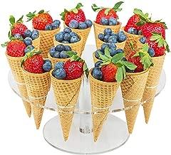Liudan Soporte para Tartas Bandeja de Tartas Bandeja de Fruta Doble de cer/ámica Americana Estante de Pastel Creativo Bandeja de Aperitivos de Hierro de Estilo Chino Bandejas para Tartas