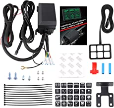 6 Gang Switch Panel, Wayup Universal Circuit Control Box Electronic Relay System Button Switch Fuse Relay Box with Wiring Harness Assemblies for Truck Marine Boat Jeep Car ATV UTV SUV