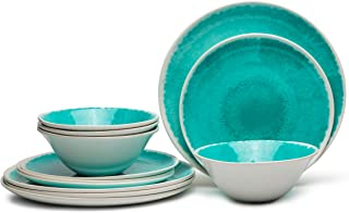 Best turquoise dish set Reviews