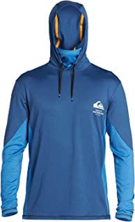 Men's Angler Hooded Ls Long Sleeve Rashguard Surf Shirt