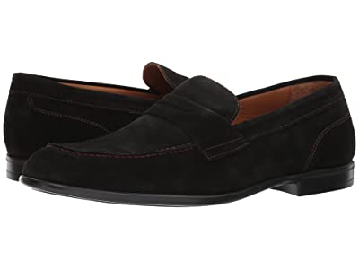 Bruno Magli Silas (Black Suede) Men