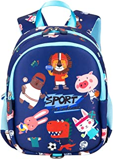 JiePai Toddler Kids Backpack for Boy Girl Cute Waterproof 3D Cartoon Preschool