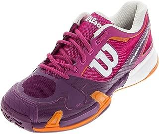 Wilson Women's Rush Pro 2.0 Fiesta Pink/Plumberry Sneaker 6.5 B (M)