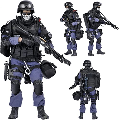 discount 1/6 Scale SWAT Action Figures(12inch), Highly Detail Army 2021 Military Soldiers Model Set with Accessories Model Collection, Military Toys for Teens sale and Adults (ASSUALTER) outlet sale