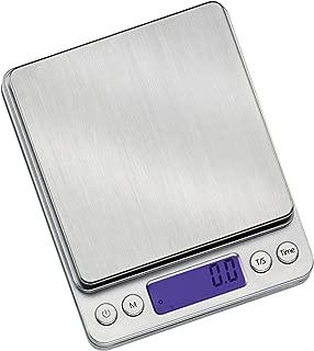 Zassenhaus M073447 Barista Precise Digital Pocket Scale, 4 x 5-Inch, 4-Inch by 5-Inch, Silver