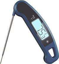 Lavatools Javelin PRO Duo Ambidextrous Backlit Instant Read Digital Meat Thermometer (Indigo)