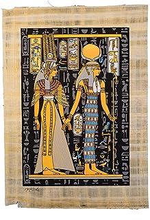 Egyptian pharonic papyrus glue at the night , 2725619349477