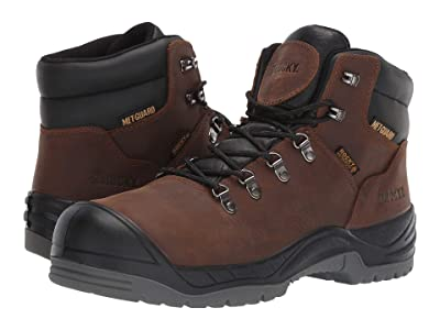 Rocky 6 Work Smart Comp/Internal Met Guard (Brown) Men