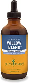 Herb Pharm Willow Blend Liquid Herbal Formula - 4 Ounce