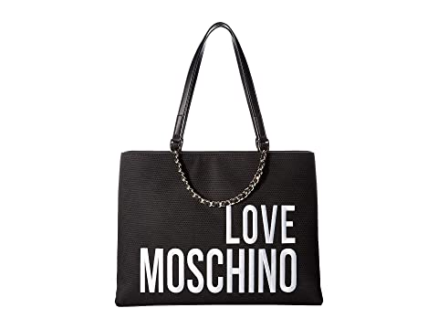 LOVE Moschino Canvas Embroidery Tote
