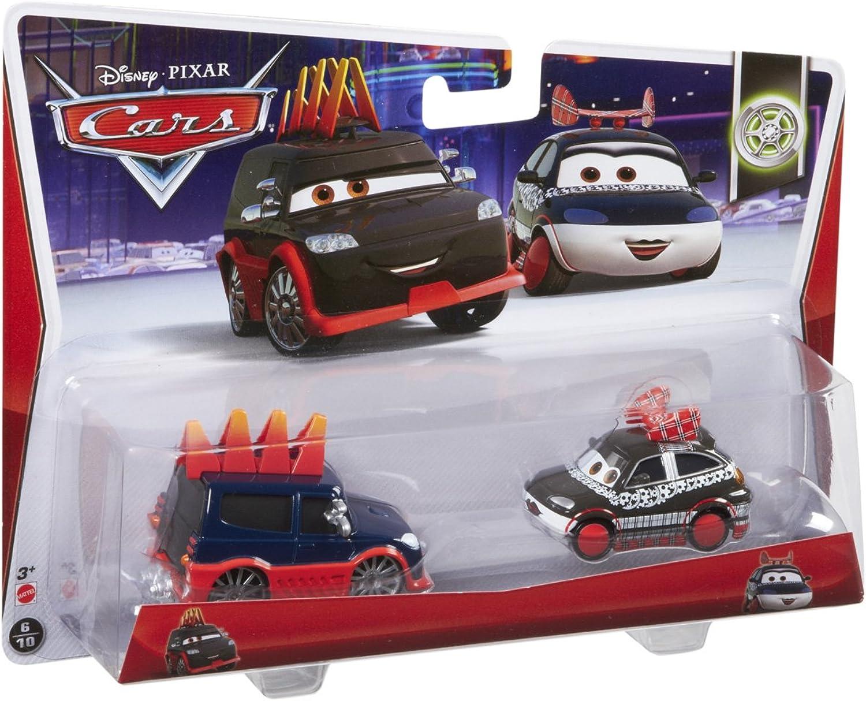 Disney Cars Yokoza and Girl on Bridge Diecast Vehicle, 2-Pack