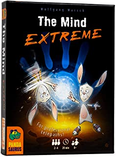 Pandasaurus Games The Mind Extreme - Twice The Speed, Synchronized and Backwards - Family-Friendly Board Games - Adult Gam...