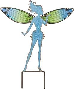 Regal Art &Gift Fairy Garden Stake, Small, Blue
