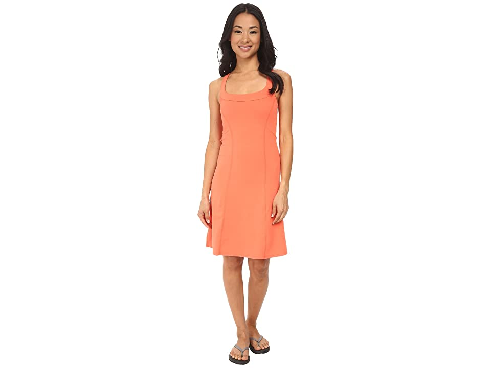 The North Face Cypress Knit Dress (Emberglow Orange (Prior Season)) Women