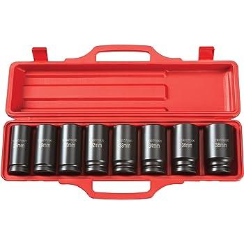 KT Pro Tools C1620M27 3//4 Drive 12-Point Socket King Tony