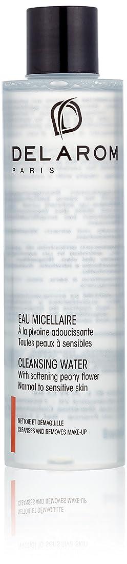 ダイヤモンド議題花輪DELAROM Cleansing Water - For Normal to Sensitive Skin 200ml/6.7oz並行輸入品