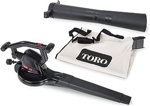 Toro Rake & Vac 10.5 Amp 2-Speed Electric Blower/Vacuum 51574