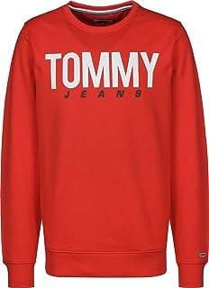Tommy Jeans Men's Tjm Essential Logo Crew Sweatshirt