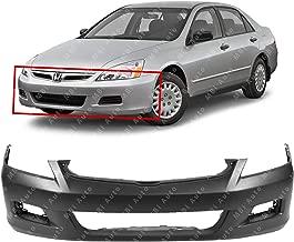 MBI AUTO - Primered, Front Bumper Cover for 2006 2007 Honda Accord Sedan, HO1000235
