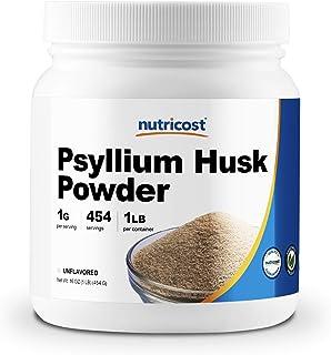 Sponsored Ad - Nutricost Psyllium Husk Ground Powder (1lbs) - Gluten Free and Non-GMO