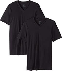 Tall Man Cotton V-Neck 2-Pack