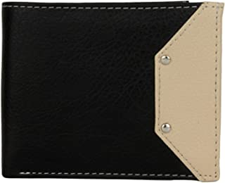 K London Black & Beige Men's Wallet