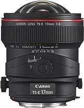 Canon TS-E 17mm f/4L UD Aspherical Ultra Wide Tilt-Shift Lens for Canon Digital SLR Cameras (Certified Refurbished)