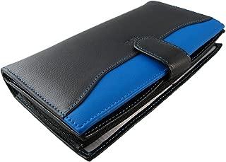 Grand portefeuille homme //FA202 VIOLET Portefeuille cuir violet