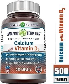 Best calcium 500mg d3 Reviews
