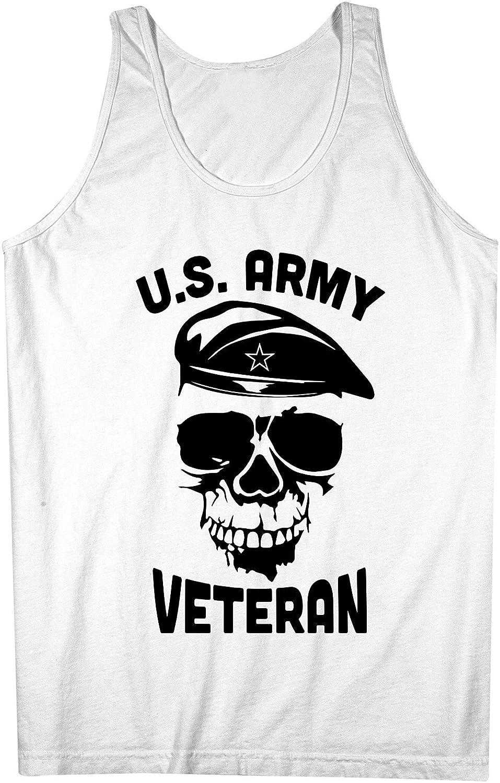 U.S. Army Veteran Soldier 男性用 Tank Top Sleeveless Shirt