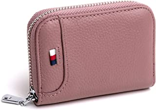 Genuine Leather Credit Card Holder RFID Credit Card wallet