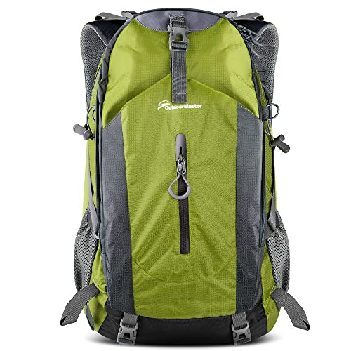 0090444542f0 OutdoorMaster Hiking Backpack 50L - Hiking   Travel Backpack w Waterproof  Rain Cover   Laptop