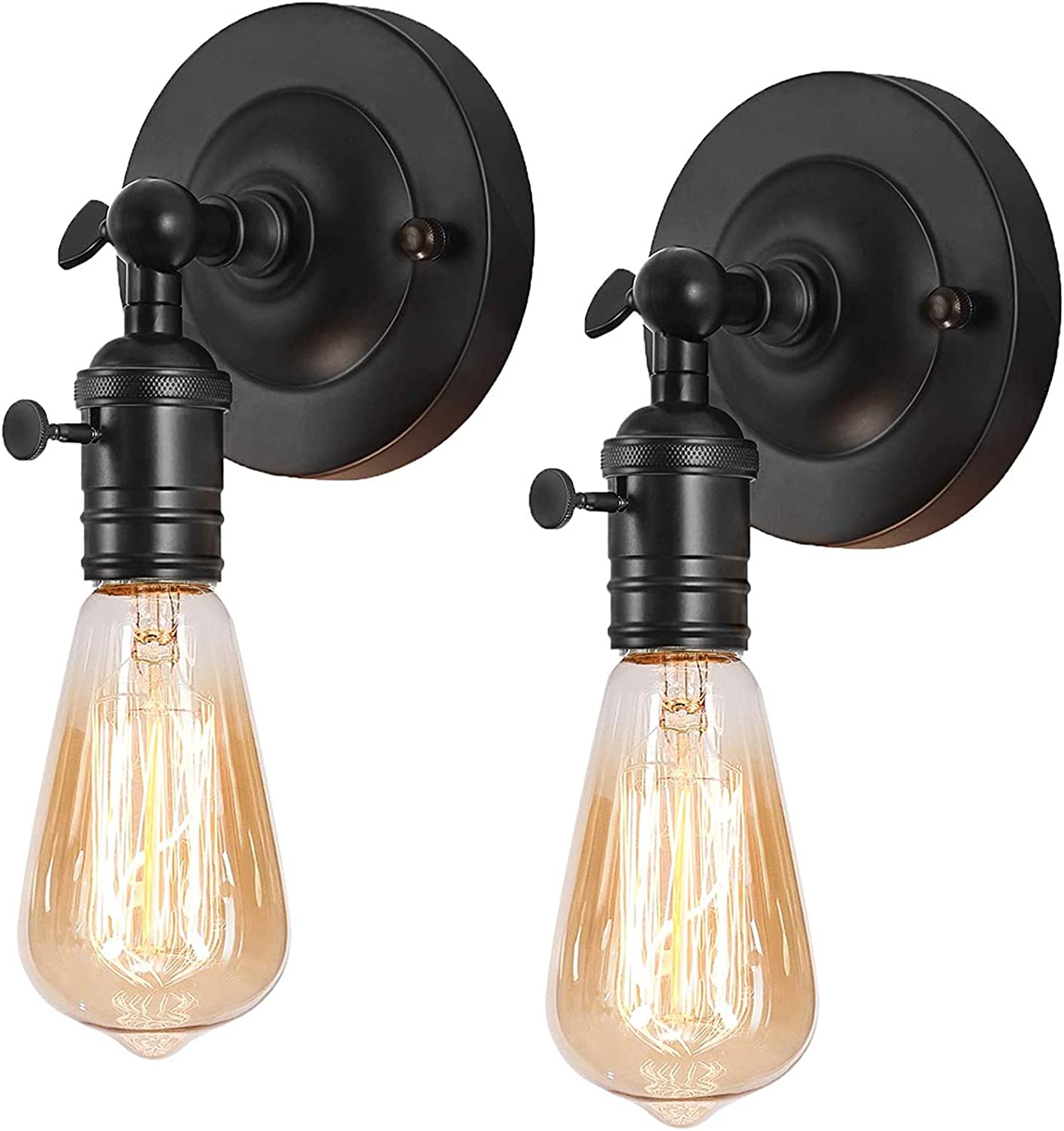 Industrial Max 80% OFF Wall Sconce 2 Pack Wa Swing Farmhouse Popular Adjustable Arm