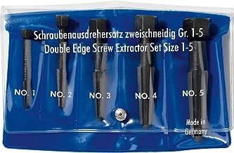 Rennsteig 471 900 3 5 onderdelen 2-dubbele schroef Extractor, blauw