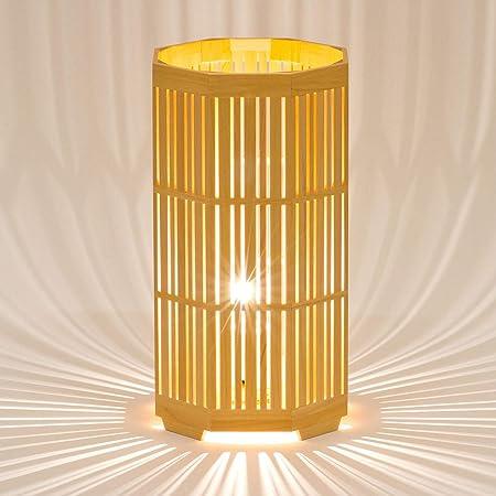 木のあかり かがやき テーブルランプ 組子照明 青森ヒバ製 国産手作り 25w