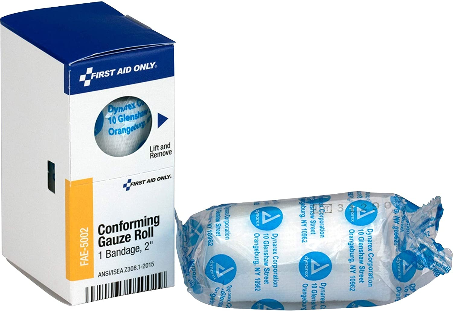 First New products world's highest quality popular Aid Only Inc FAE5002 Ranking TOP4 White Gauze Conforming 2-Inch Roll