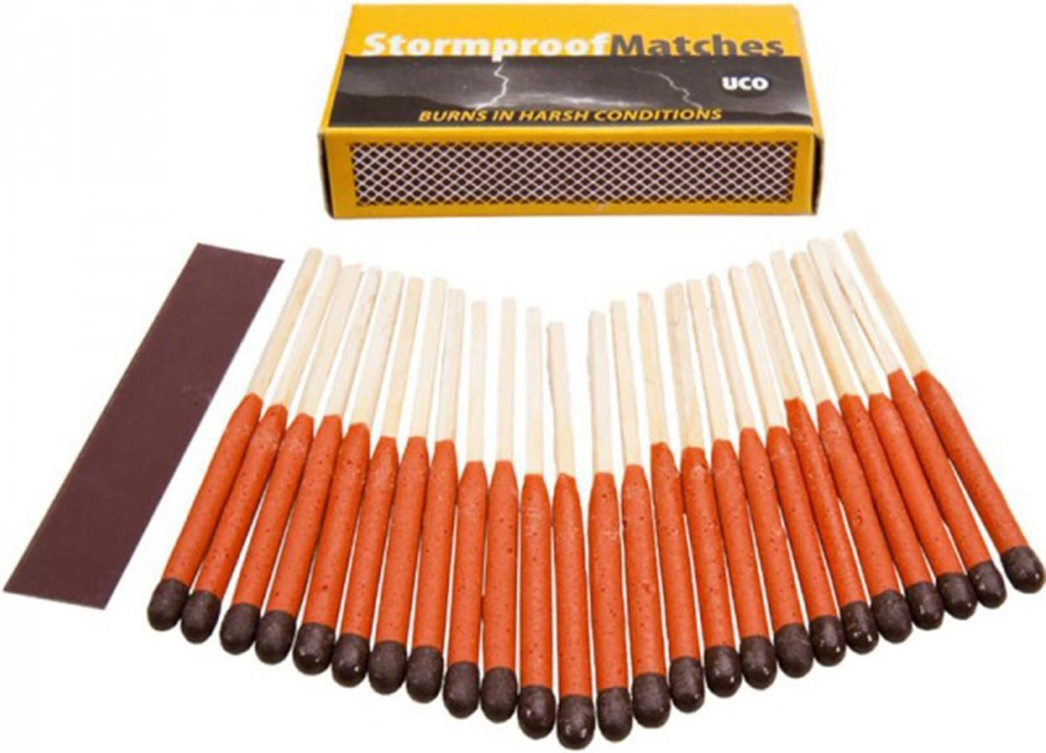 2 NEW UCO Stormproof Matches 25-Pack Windproof Waterproof 2 PACKS