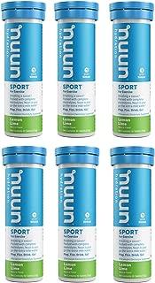 Nuun Active: Lemon+Lime Electrolyte Enhanced Drink Tablets(6-Pack of 10 Tablets)