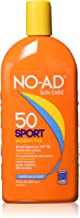 NO-AD Sport Sunscreen Lotion, SPF 50 16 oz (Pack of 2)