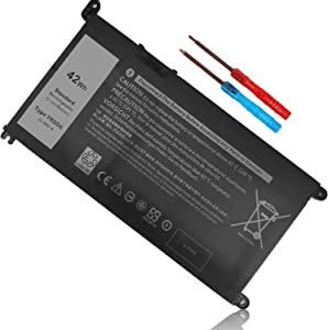 42Wh YRDD6 11.4V Battery for Dell Inspiron 5481 5482 5485 5491 5591 7586 3310 2-in-1 15 5590 5593 5594 5585 3582 3583 3584 3593 14 5493 5480 5598 3493 3793 Vostro 3491 5581 5490 5590 1VX1H VM732 3Cell